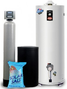 Water Softener Salt and Heater